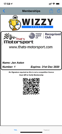digital membership card for clubs iphone android
